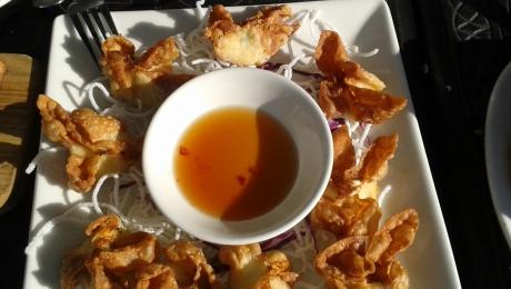 Crab Wonton's
