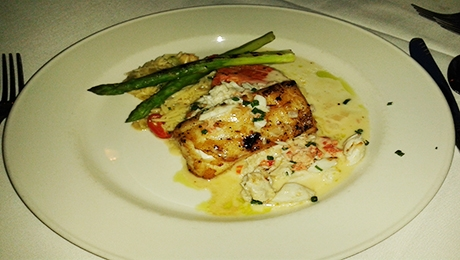 Chilean Sea Bass with Asparagus